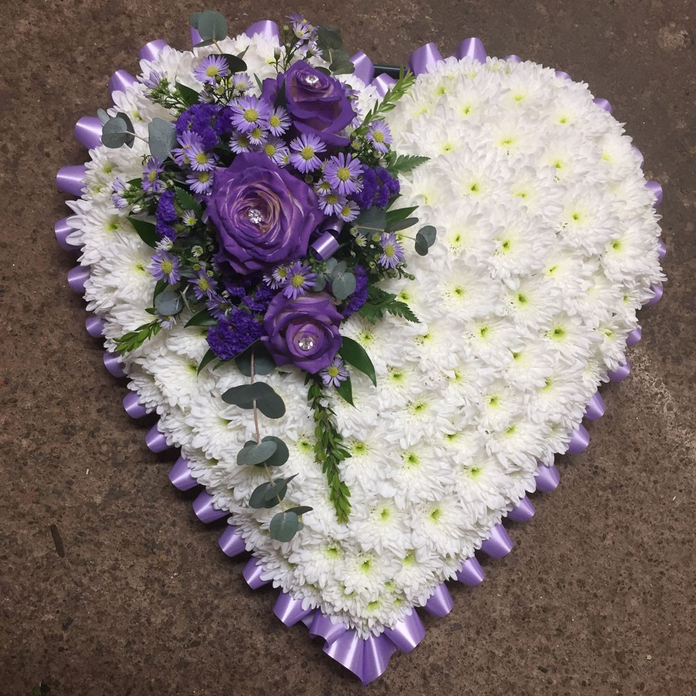 Funeral tributes flowers hereford funeral tributes flowers funeral heart izmirmasajfo