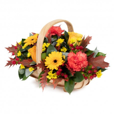 Autumn Hedgerow Basket